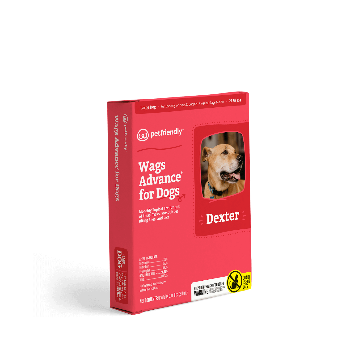 Flea & Tick Protection for Large Dogs